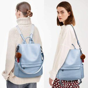 Women Ellixi leather Backpack